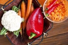 οργανικά λαχανικά Στοκ Εικόνα