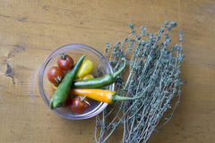 οργανικά λαχανικά Στοκ εικόνα με δικαίωμα ελεύθερης χρήσης