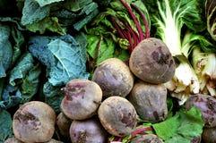 οργανικά λαχανικά αγοράς Στοκ εικόνες με δικαίωμα ελεύθερης χρήσης