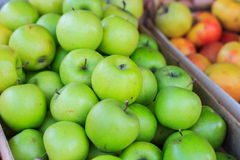 Οργανικά Healty φρούτα της Apple Στοκ Φωτογραφίες