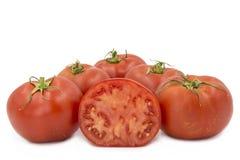 οργανικές ντομάτες Στοκ φωτογραφία με δικαίωμα ελεύθερης χρήσης