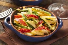 Οργανική σαλάτα λαχανικών και φρούτων Στοκ Εικόνα