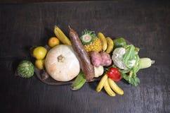 Οργανική τροφή από τον κήπο Στοκ Εικόνα