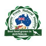 Οργανική τροφή που αυξάνεται στην Αυστραλία Στοκ φωτογραφία με δικαίωμα ελεύθερης χρήσης
