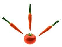 Οργανική τροφή Στοκ Εικόνες