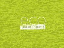 Οργανική φύσης έννοια υποβάθρου Eco φιλική διανυσματική Στοκ Φωτογραφία