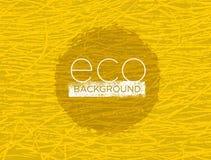Οργανική φύσης έννοια υποβάθρου Eco φιλική διανυσματική Στοκ Εικόνες