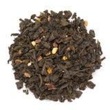 Οργανικό πορτοκαλί πράσινο τσάι citrus sinensis ανθών Στοκ φωτογραφία με δικαίωμα ελεύθερης χρήσης
