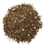 Οργανικό πράσινο τσάι Tulsi πιπεροριζών στοκ εικόνες
