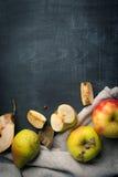 Οργανικό υπόβαθρο φρούτων Στοκ Εικόνες