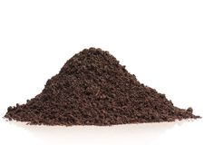 Οργανικό χώμα στοκ εικόνες με δικαίωμα ελεύθερης χρήσης