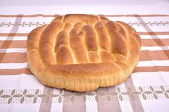 Οργανικό wholemeal ψωμί σιταριού με τους σπόρους Στοκ Φωτογραφίες