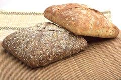 οργανικό wholemeal ψωμιού Στοκ Φωτογραφία
