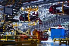Οργανισμοί αυτοκινήτων στη γραμμή παραγωγής Στοκ εικόνα με δικαίωμα ελεύθερης χρήσης