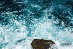 Οργιμένος κύματα κατά τη διάρκεια μιας θύελλας Στοκ Εικόνα