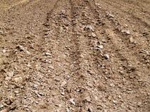 οργωμένο χώμα στοκ εικόνα