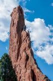 Αναρρίχηση βράχου στοκ φωτογραφίες με δικαίωμα ελεύθερης χρήσης