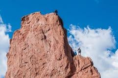 Αναρρίχηση βράχου Στοκ εικόνες με δικαίωμα ελεύθερης χρήσης