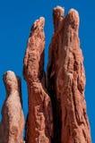 Αναρρίχηση βράχου στοκ εικόνες