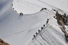 ορειβάτες Στοκ Εικόνα