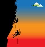 ορειβάτες διανυσματική απεικόνιση