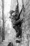 ορειβάτης αγοριών λίγα Στοκ Φωτογραφία