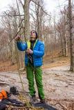 Ορειβάτης βουνών Στοκ εικόνες με δικαίωμα ελεύθερης χρήσης