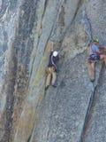ορειβάτης δύο Στοκ εικόνα με δικαίωμα ελεύθερης χρήσης