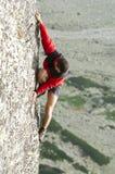 ορειβάτης ελεύθερος Στοκ εικόνα με δικαίωμα ελεύθερης χρήσης