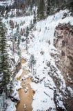 Ορειβάτης πάγου Στοκ εικόνα με δικαίωμα ελεύθερης χρήσης