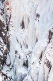 Ορειβάτης πάγου Στοκ φωτογραφίες με δικαίωμα ελεύθερης χρήσης