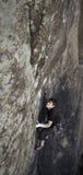 Ορειβάτης σε Val Δαβίδ Στοκ εικόνες με δικαίωμα ελεύθερης χρήσης