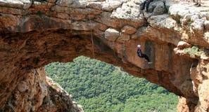 ορειβάτης σπηλιών Στοκ εικόνες με δικαίωμα ελεύθερης χρήσης