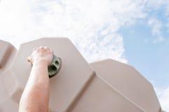 Ορειβάτης χεριών Στοκ φωτογραφία με δικαίωμα ελεύθερης χρήσης
