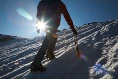 ορειβάτης στοκ φωτογραφία
