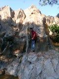 Ορειβασία ατόμων στοκ φωτογραφία με δικαίωμα ελεύθερης χρήσης