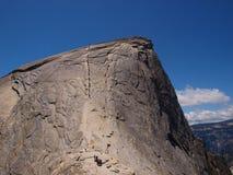 Ορειβασία σε Yosemite Στοκ Φωτογραφία