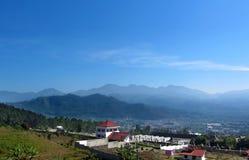 ορεινές περιοχές Μαλάνγκ batu Στοκ εικόνα με δικαίωμα ελεύθερης χρήσης