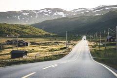 ορεινές περιοχές νορβηγ&io Στοκ Εικόνα