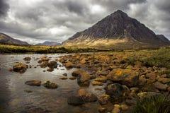 ορεινές περιοχές σκωτσέζ στοκ εικόνα