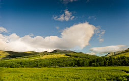ορεινές περιοχές σκωτσέ&zeta Στοκ Εικόνες