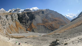 Ορεινές περιοχές Nepali Στοκ Εικόνες