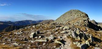 ορεινή περιοχή αναταραχής Στοκ Εικόνες