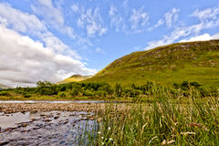 ορεινή περιοχή Σκωτία Στοκ εικόνα με δικαίωμα ελεύθερης χρήσης