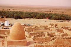 ορεινή όαση Τυνησία Στοκ Εικόνες