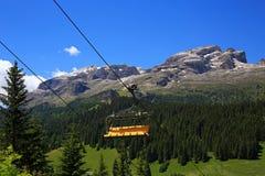 Ορεινός όγκος της Ronda Sella από Passo Gardena στοκ φωτογραφία με δικαίωμα ελεύθερης χρήσης