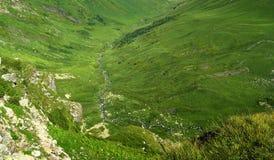 Ορεινό, τοπίο άνοιξη Στοκ Εικόνες