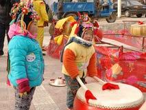 ορεινό χωριό παιδιών Στοκ εικόνα με δικαίωμα ελεύθερης χρήσης