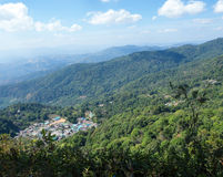 Ορεινό χωριό, Ταϊλάνδη Στοκ Φωτογραφία
