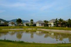 Ορεινό χωριό της Ταϊλάνδης Στοκ Εικόνες